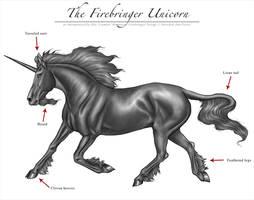 The Firebringer Unicorn by Unicorns-of-the-Vale