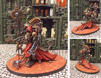Warhammer 40K Belisarius Cawl by Badgroth