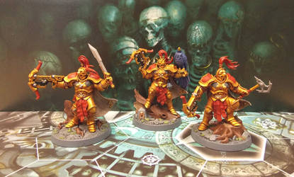Warhammer Underworlds Shadespire The Farstriders by Badgroth