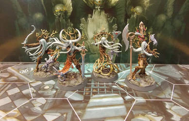 Warhammer Nightvault Yltharis Guardians by Badgroth