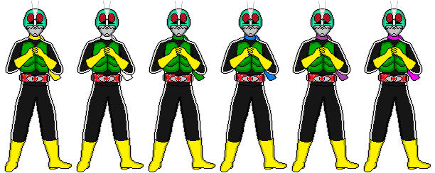 Shocker Riders V2 by kikatosama048
