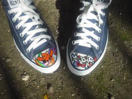 NyA Cat and War Panda