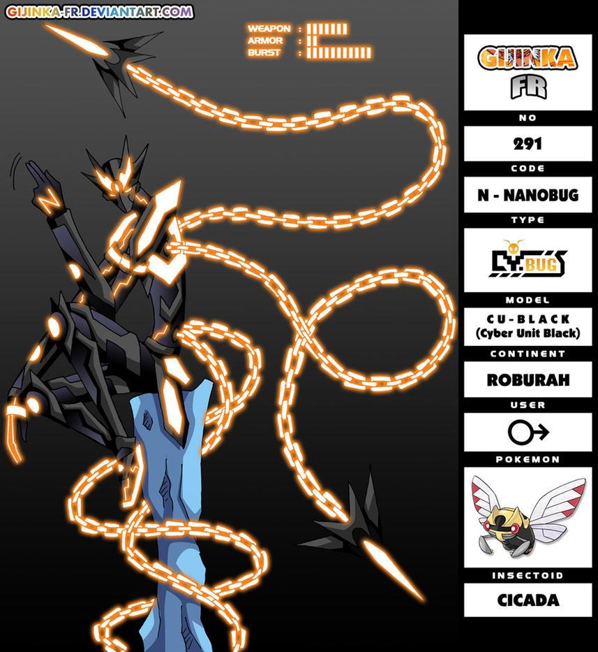 GFR 291 - CybugS CODE-N by Gijinka-FR