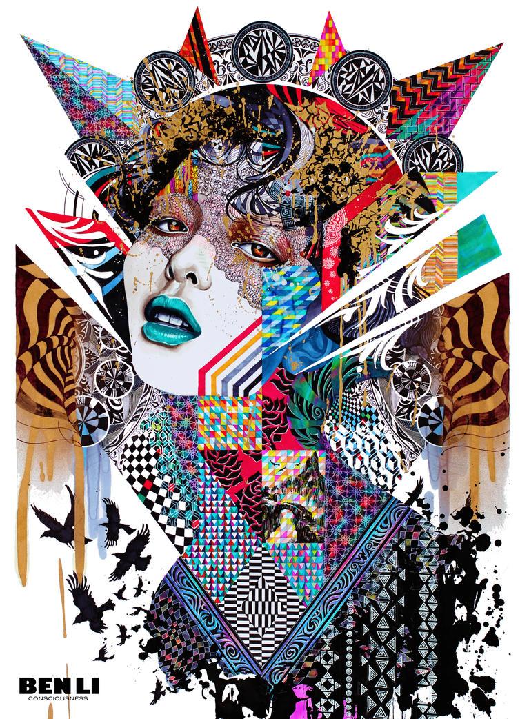 Consciousness (2014) by elevonART