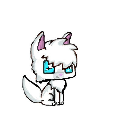 Animal Jam Arctic Wolf Coloring Pages Sketch Coloring Page