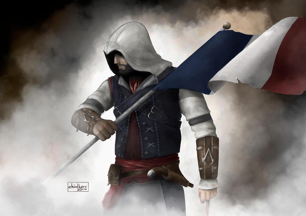 Assassin's Creed: Unity by zhidkov