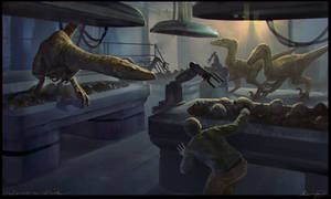 Jurassic Park by KenanJ