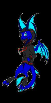 Hoody Glowy Dragon - JD by Fire-Storm-Dragon