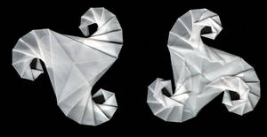 origami triskell