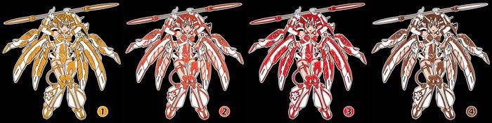 2012 G-Anime T-shirt color propositions by pinkviviz