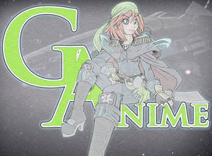 2014 G-Anime Mascot Sketch and Color test : Gamine