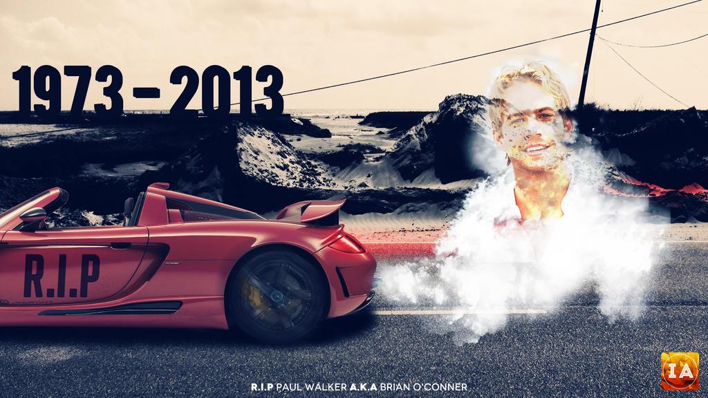 RIP Paul Walker By Shahriyer