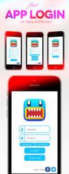 Flat App Iphone UI by shahriyer