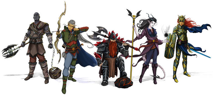 DnD party commission
