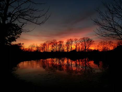 Sunset Reflection II
