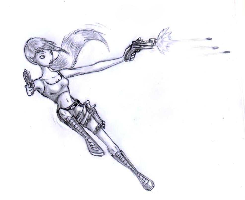 Tomb Raider - Lara Croft by TwickyGirl