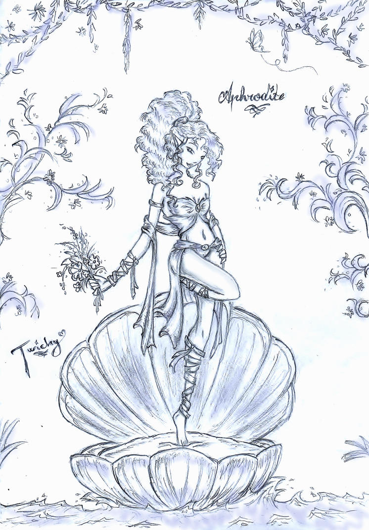 Uncategorized Drawings Of Aphrodite aphrodite by twickygirl on deviantart twickygirl
