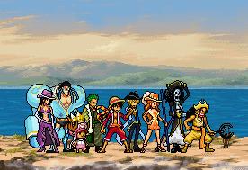 Straw-Hat Pirates ~Wake Up!~ openning outfits by MrKuroRyo