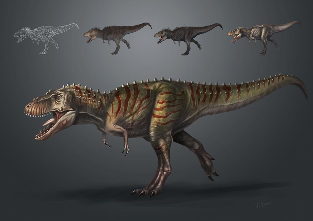 T.rex jurassic park skin by VuBui91