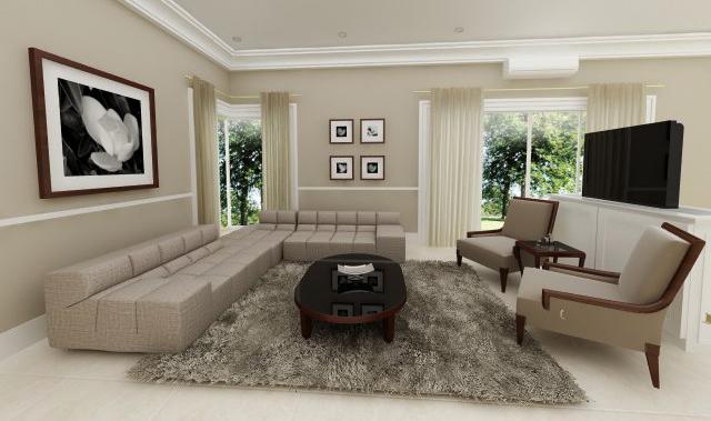 Modern Classic Living Room By Dandygray On Deviantart