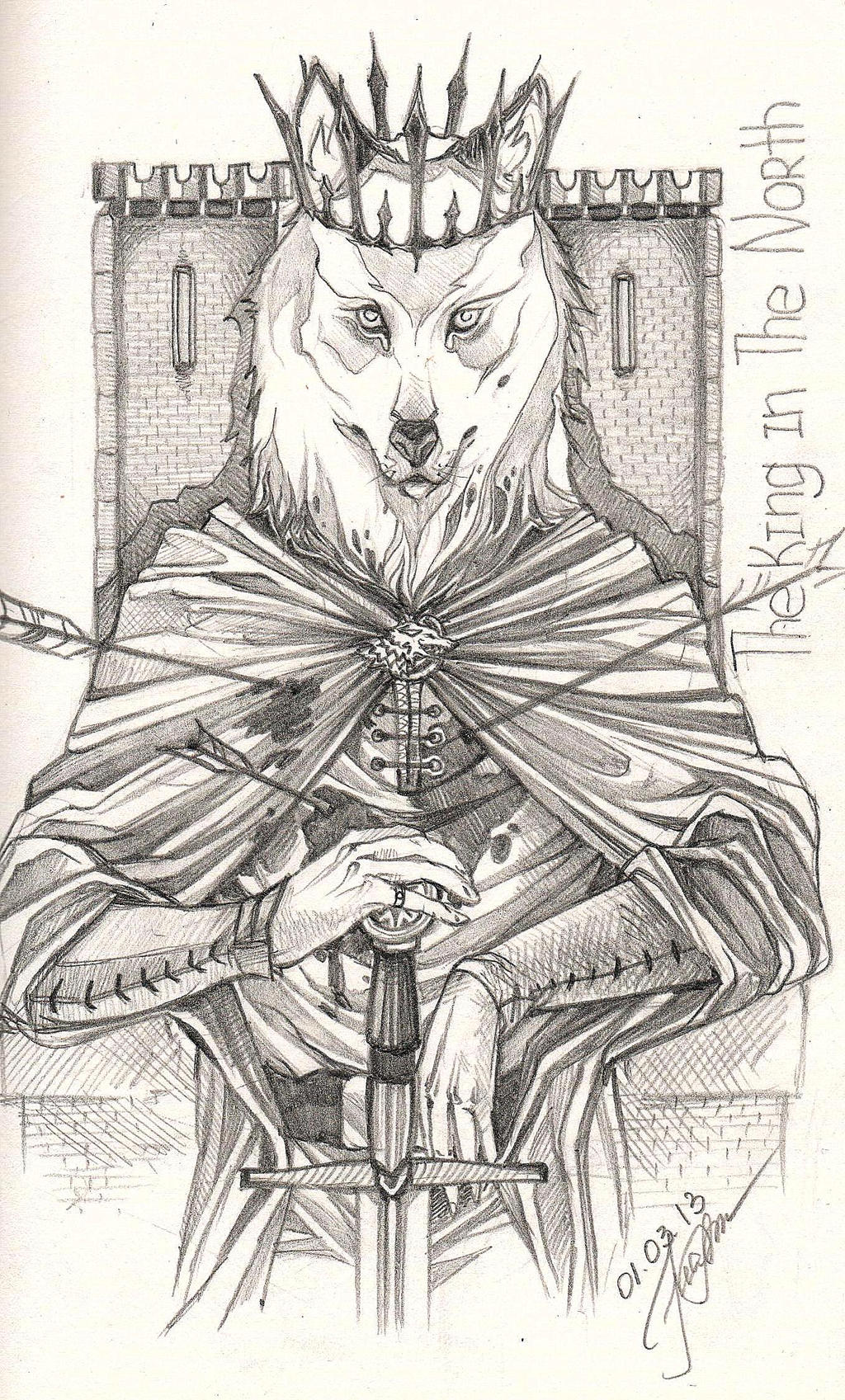 Robb Stark. Red Wedding. 2 by Hawk-Feathered on DeviantArt |Robb Stark Art Red Wedding