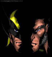 Wolverine, Logan Colored by kftapout