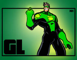 Green Lantern Colored by kftapout