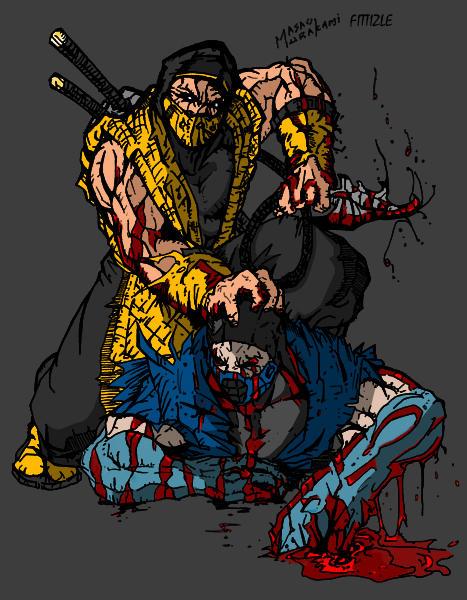 Scorpion vs. Sub-Zero by kftapout on DeviantArt