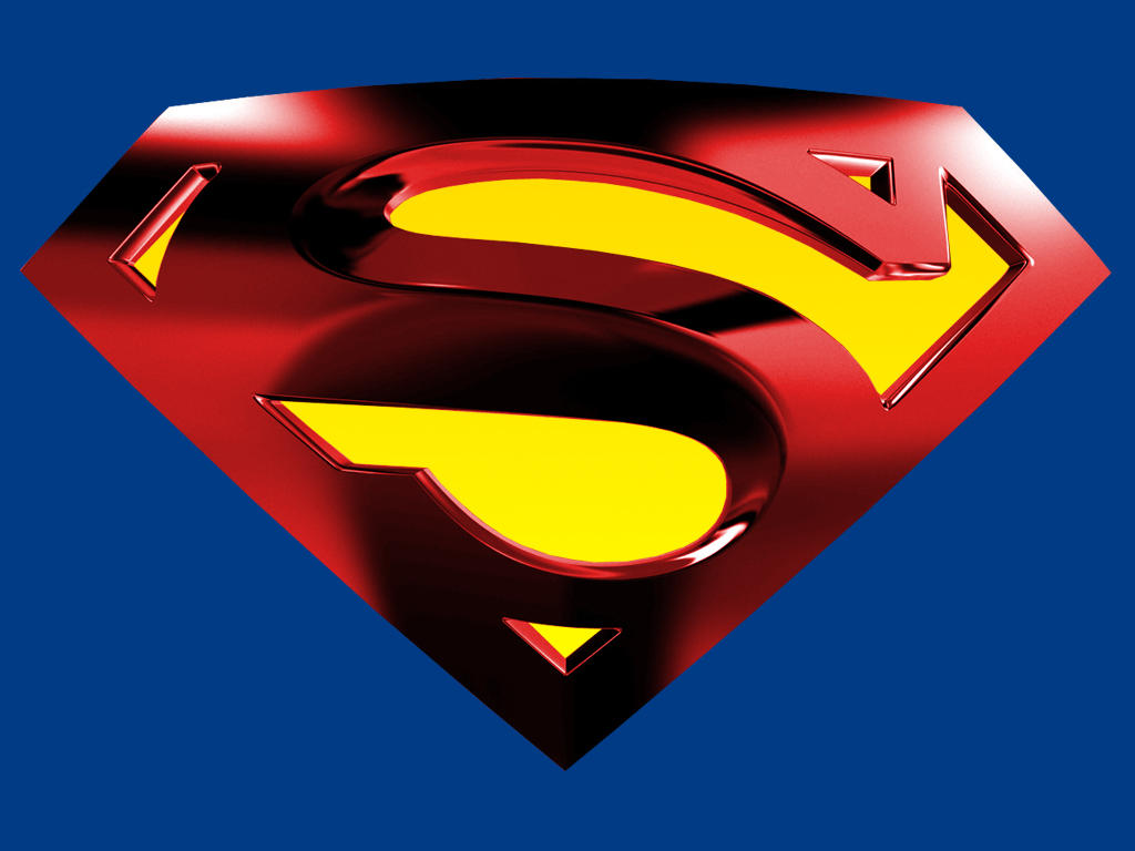 Superman Logo With Blue Bg By Kftapout On Deviantart