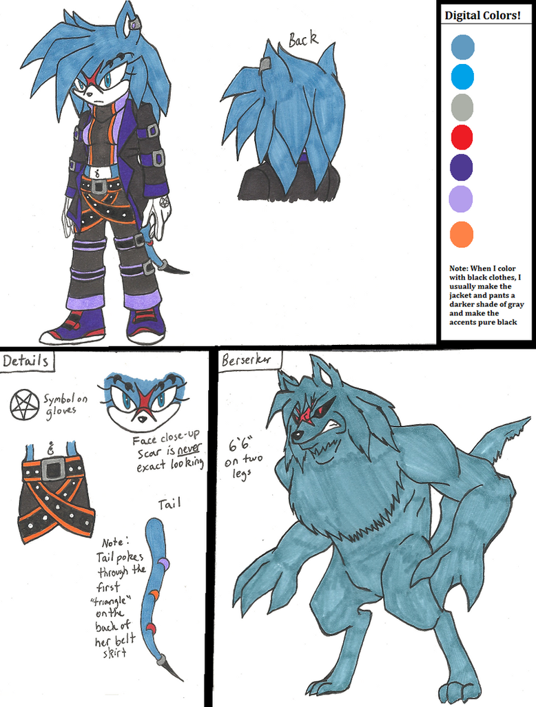 Sara :BIO and Ref: OLD by the-rainbow-ass