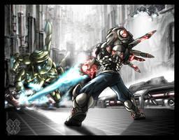 Sane's Rampage by Nek0gami