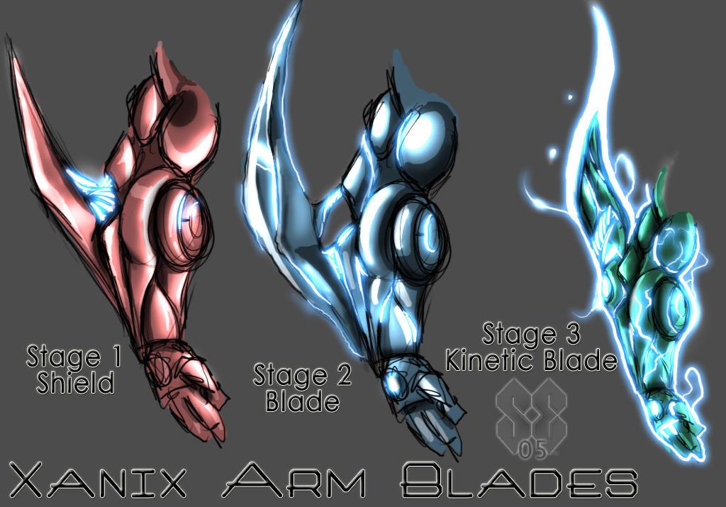 Kansei Gris Xanix_arm_blades_by_nek0gami
