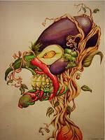 Veggie Head by JD81