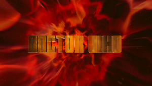 Doctor Who 50th Anniversary Logos: 11th Doctor #2
