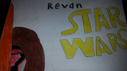 Revan drawing by MysticRylo