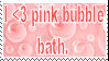 Pink Bubble Bath Lover Stamp by SilensTemplum