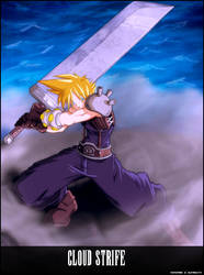 Cloud Strife Fina fantasy 7 by Jdstudy