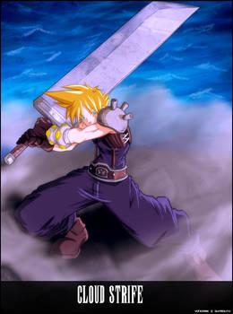 Cloud Strife Fina fantasy 7