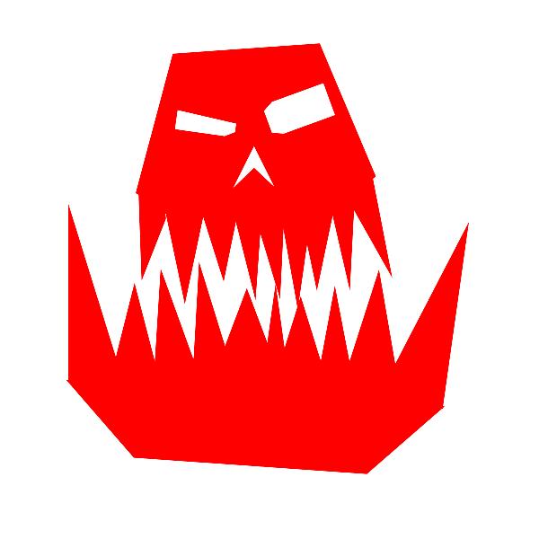 Ork Skull Symbol By CMNiall On DeviantART