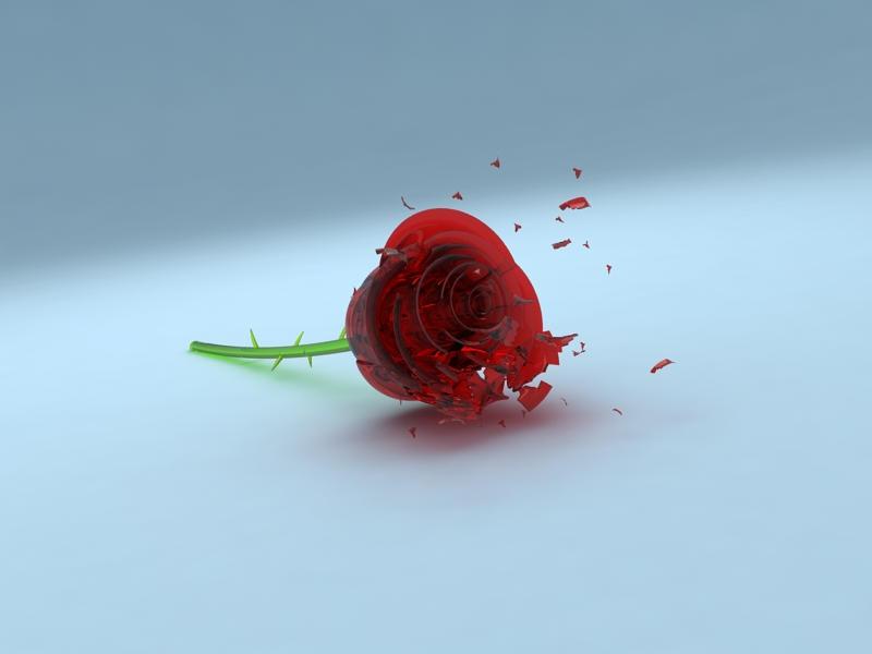 кристална роза