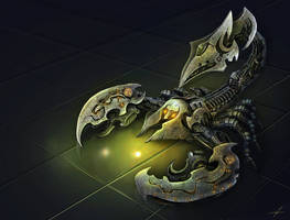 sci fi scorpion :) by Zhanac