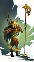 Undead Viking Varrior by Zhanac