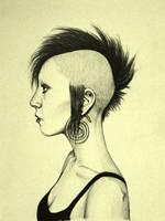 Punk chick by Mariochaz