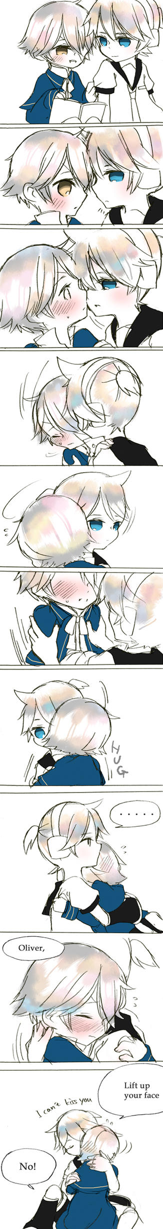 Len want to kiss Oliver by Miza3