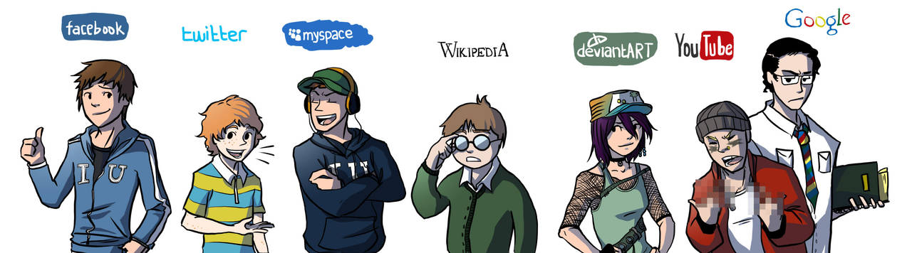 Internet University Cast by elontirien