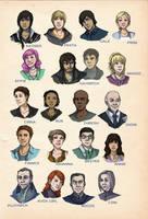 Hunger Games Cast by elontirien