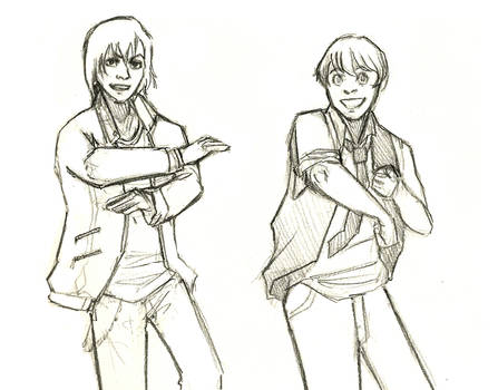 Gale + Peeta wanna be your BF