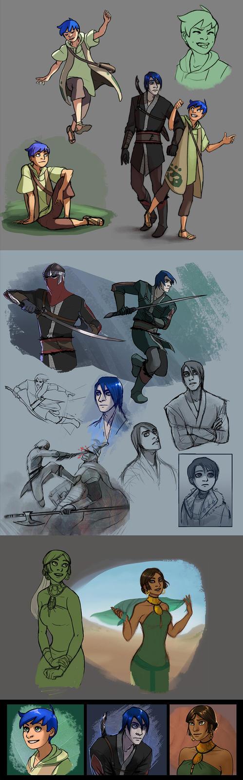 Character Stuff by elontirien