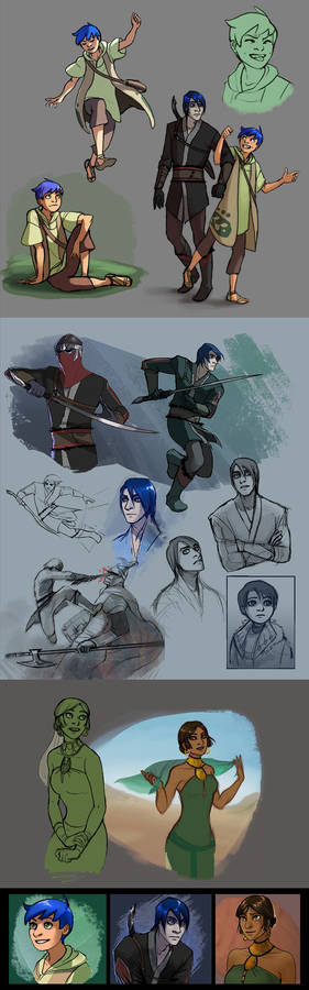 Character Stuff