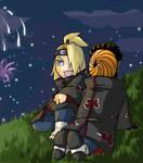 Tobi and Deidara- Fireworks